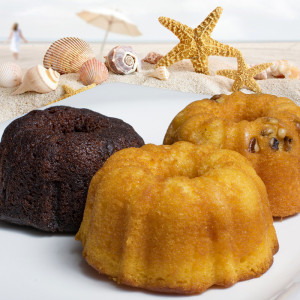 Assorted Rum Cakes 4 oz